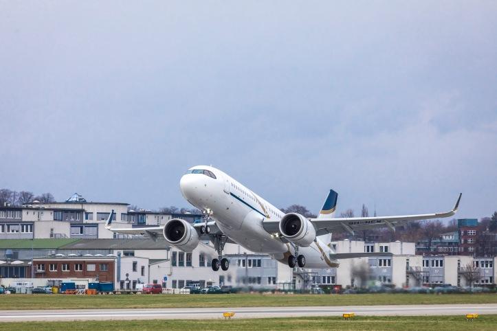 Comlux ACJ320neo take-off.jpg